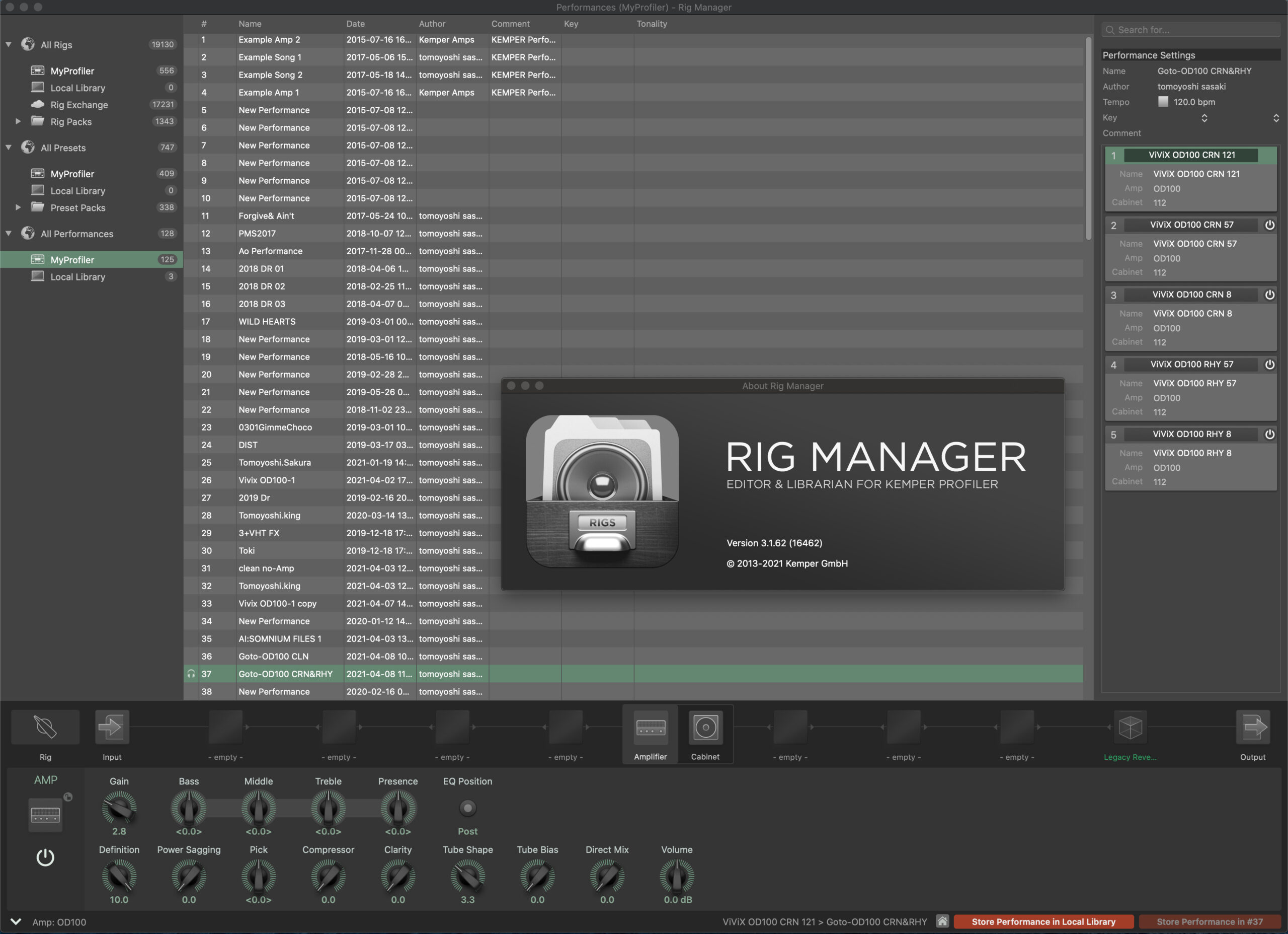 Rig Manager